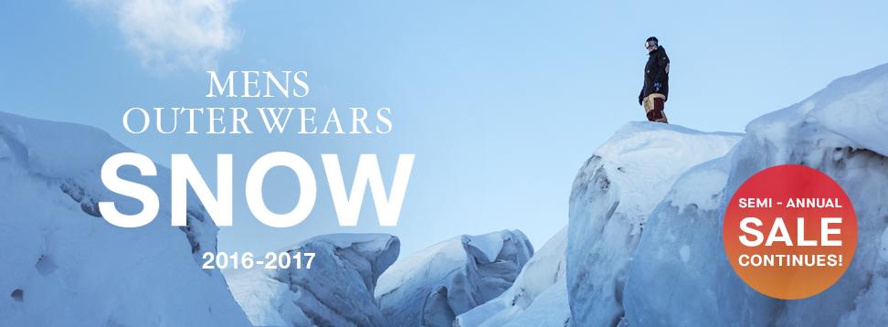 メンズウェア SNOW2016