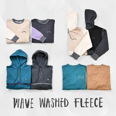 WAVE WASHED FLEECE/WOVEN