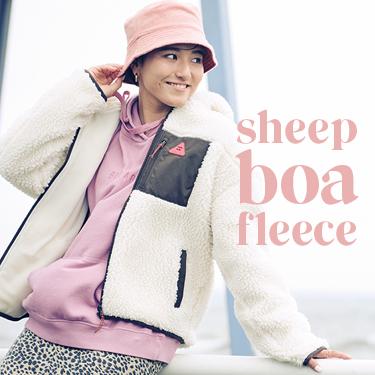 SHEEP BOA FLEECE