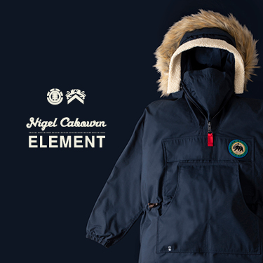NIGEL CABOURN ELEMENT WOLFEBORO COLLECTION