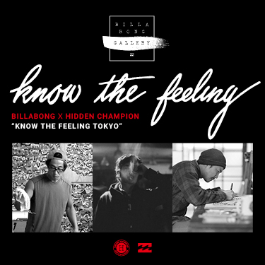 KNOW THE FEELING TOKYO